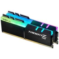 قیمت خرید رم کامپیوتر جی اسکیل 2×8=16 گیگابایت ddr4 فرکانس 3200 مدل Trident Z RGB
