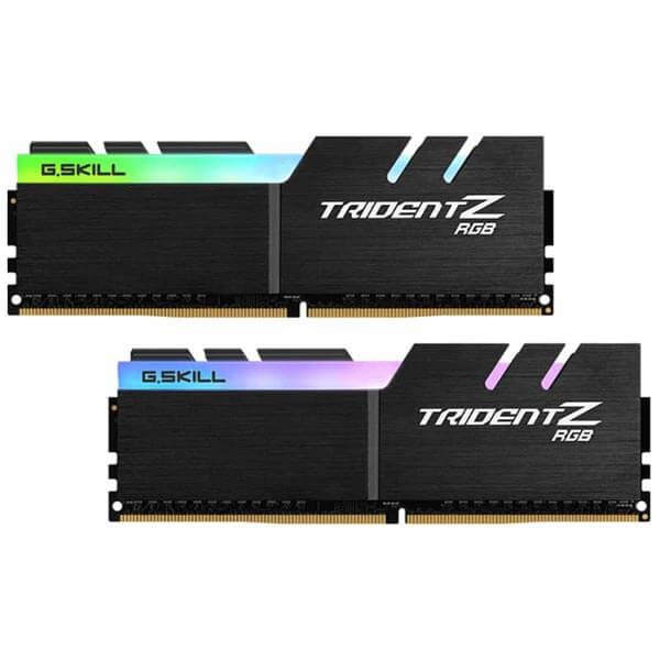 قیمت خرید رم کامپیوتر جی اسکیل 2×8=16 گیگابایت ddr4 فرکانس 3600 مدل Trident Z