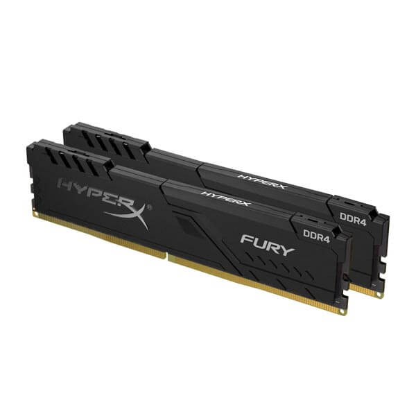 قیمت خرید رم کامپیوتر کینگستون 2×8=16 گیگابایت ddr4 فرکانس 3000 مدل HyperX Fury