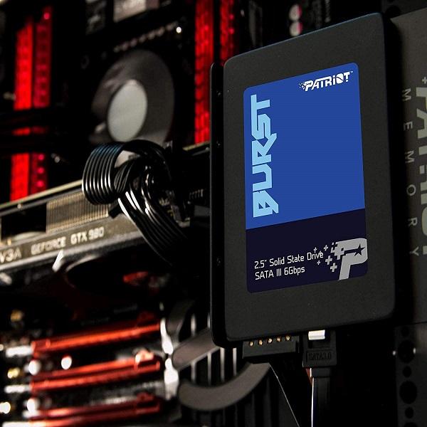 حافظه اس اس دی برند پاتریوت مدل Patriot Burst SSD 120GB Burst